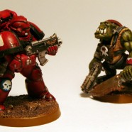 Artscale Blood Angels Combat Squad
