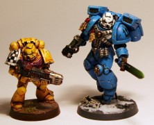 Artscale Space Marine Individuals