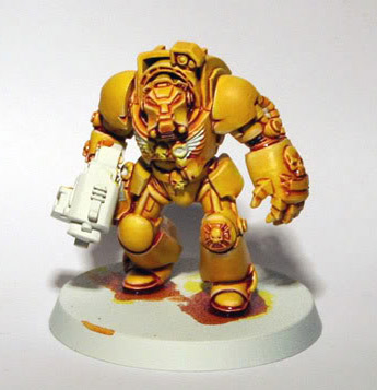 Tutorial – Painting Yellow