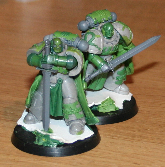 Primarchs Alpharius and Omegon