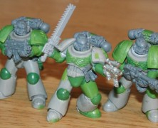 Artscale Space Marine Combat Squad