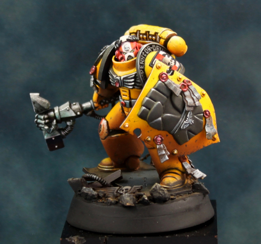 Truescale imperial fist charity auction wargaming forum and wargamer forums - Imperial fists 40k ...